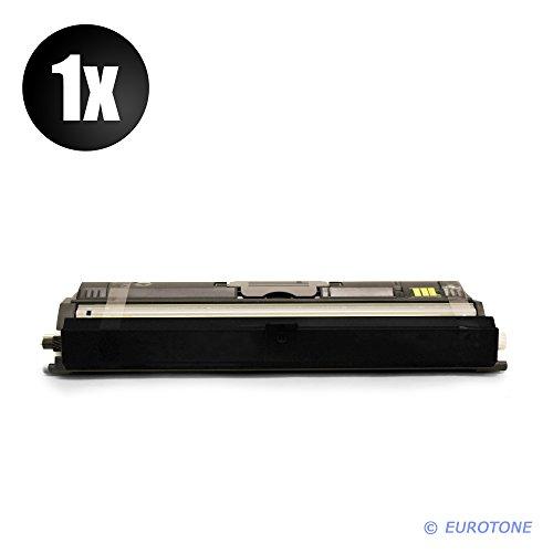 EOS-Toner für Magicolor 1600 W, 1650 EN D, 1650 EN, 1650 EN DT, 1680mf, 1690mf ersetzen Konica Minolta Schwarze BK Patronen Original EUROTONE (ISO-Norm 19798)