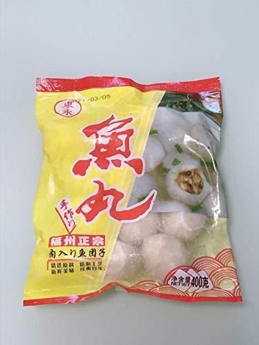 正宗福州魚丸 鮮魚肉だんご・魚団子 ???丸 猪肉? 冷凍食品 クール便 400g