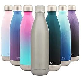 Simple Modern Bolt Borraccia Termica – Alluminio Bottiglia Acciaio Inox Acqua Termos da Viaggio per Portatile Inossidabile Borracce Termiche