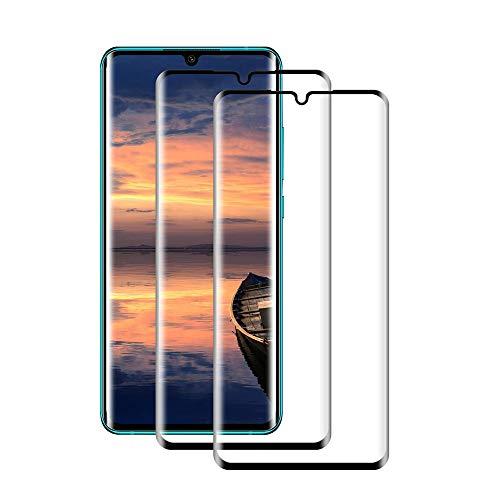 【2020年最新バージョン】Xiaomi Mi 10 Lite ガラスフイルム 【日本製素材旭硝子製】最大硬度9H/高透過率/3D Touch対応/自動吸着/3Dラウンドエッジ加工/指紋防止/気泡ゼロ/貼り付け簡単【2枚セット】Xiaomi Mi 10 Lite 強化ガラス (Xiaomi Mi 10 Lite/ブラック)