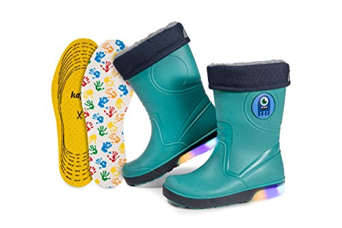 CLUB4BRANDS Light Up LED Wellies