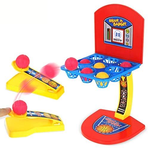 JEJA Tisch-Basketball-Spiel Desktop-Finger-Shooting-Spiel für Kinder Erwachsene Familie Spaß