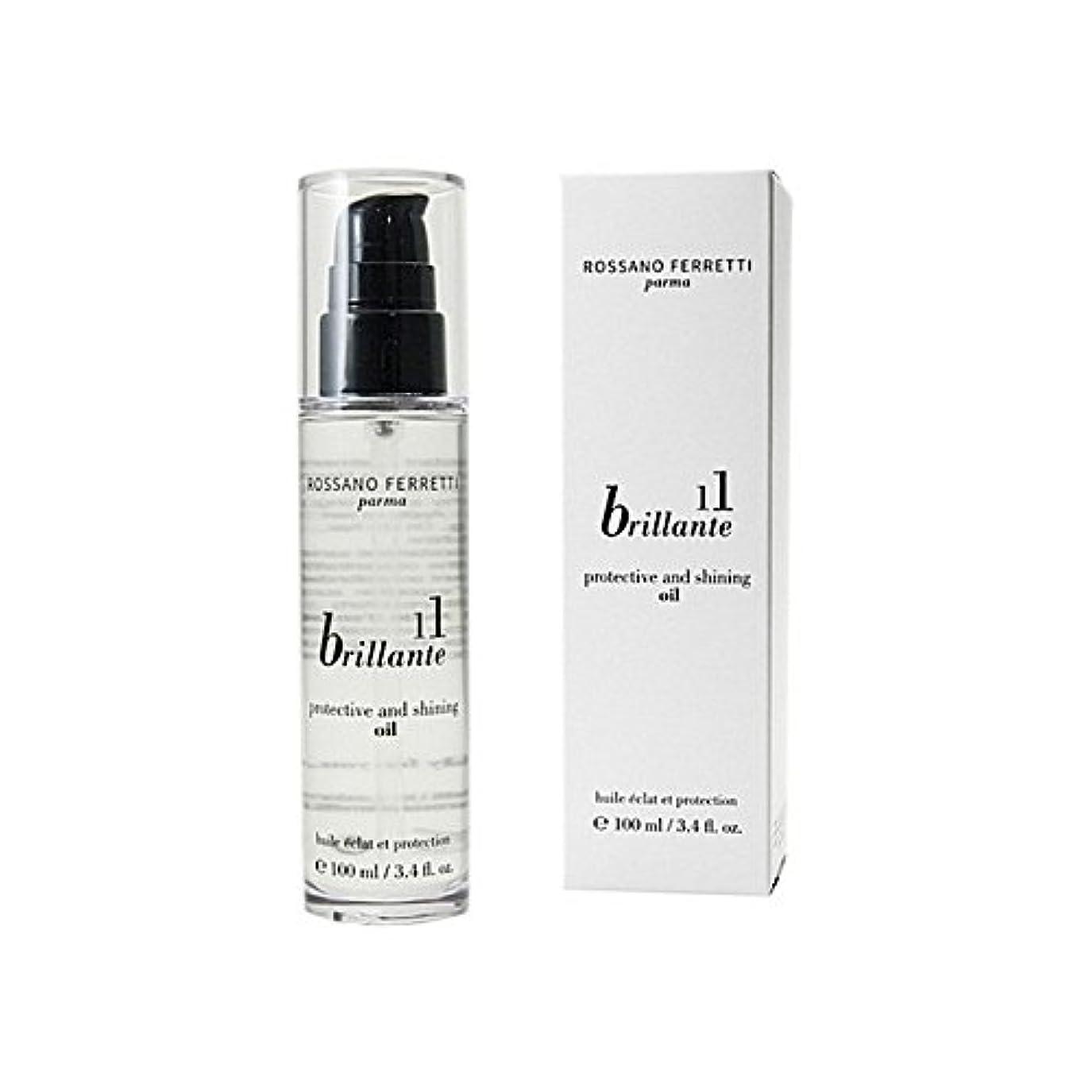 実際スコアうれしいロッサノフェレッティパルマ保護と輝く油ブリランテ x4 - Rossano Ferretti Parma Brillante Protective And Shining Oil (Pack of 4) [並行輸入品]