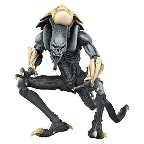 Ldwxxx Alien VS.Predator Animación Modelo, Modelo Estatua, Escritorio Decoración, 17cm (Color : C)