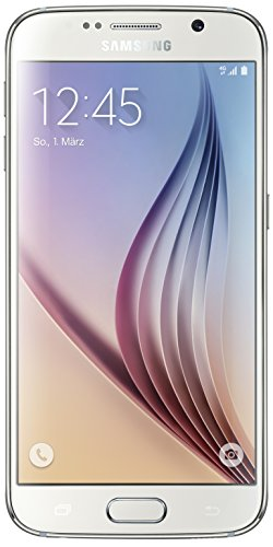 Samsung Galaxy S6 Smartphone (12,9 cm (5,1 Zoll) Touch-Display, 32GB Speicher, Android 5.0) weiß [T-Mobile Branding]