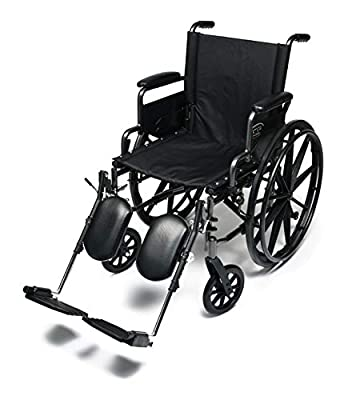 """Everest & Jennings Traveler L4 Wheelchair, Ultralight Adjustable-Height Adult Use, 16x16"""" Seat by GF Health Products, Inc."""