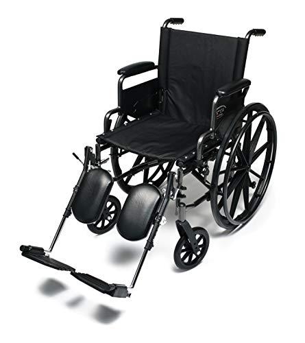 Everest & Jennings Traveler L4 Wheelchair, Ultralight Adjustable-Height Adult Use, 16x16