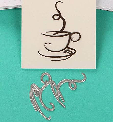 Schneid-Schablone DIY Messerform viele manuelle Muster maschinell schneiden Kaffee Freizeit Handarbeit 5,9 x 8,2 cm