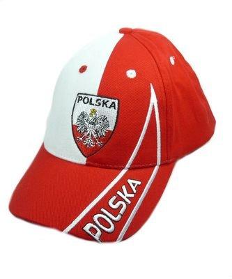 Fan Cap Polen Polska NEU Kappe Fahne Flagge Basecap