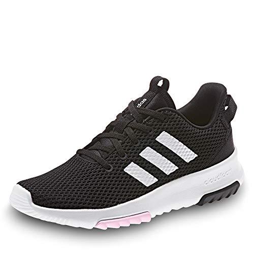 adidas Performance Racer Sneaker Damen schwarz/weiß, 7 UK - 40 2/3 EU - 8.5 US