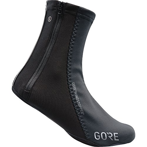 GORE WEAR Unisex Windproof Overshoes, C5 Windstopper Overshoes, Size: 9-10.5, Color: Black, 100388
