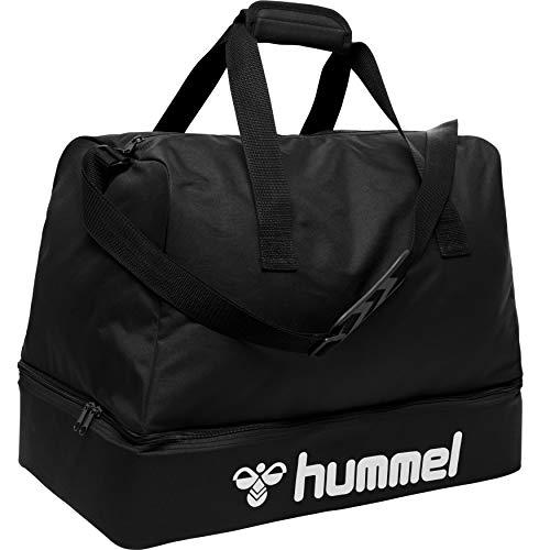 hummel Core Football Bag Mochila, Color Negro, S