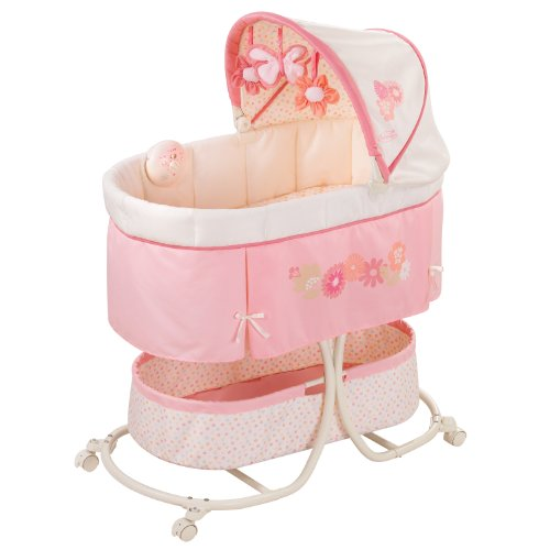 Summer Soothe & Sleep Bassinet with Motion, Lila