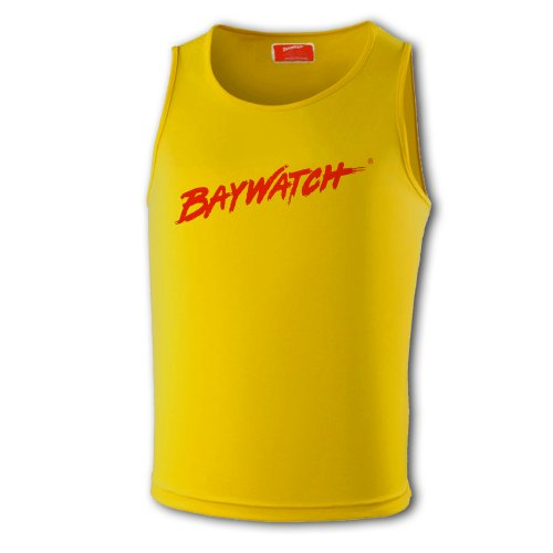 Offizielle Baywatch Cooltex Weste Gr. L, gelb