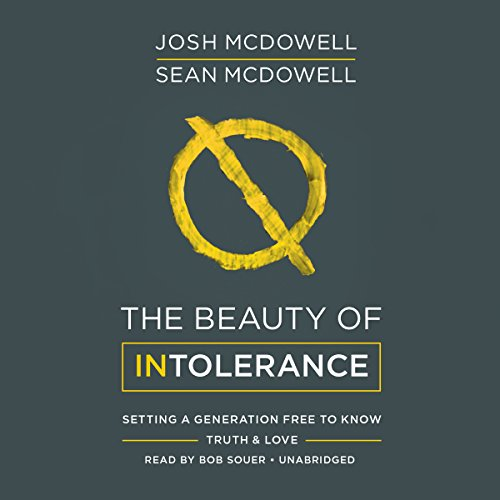 The Beauty of Intolerance audiobook cover art