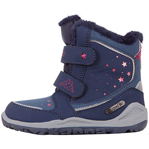Kappa Unisex Kinder CUI TEX Sneaker, 6722 Navy/pink,33 EU