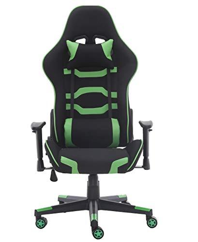 Silla de oficina para videojuegos, silla de oficina de respaldo alto, silla de escritorio, silla de