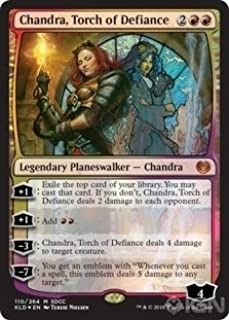 Magic: The Gathering - Chandra, Torch of Defiance - Foil - SDCC 2018 Exclusive