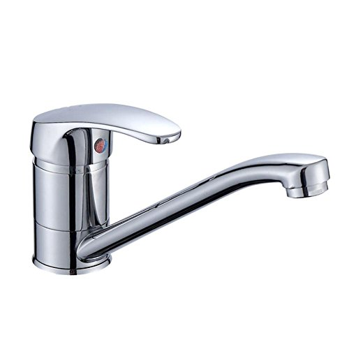 ZGSP Best Commercial Kitchen faucets Chrome Plated Kitchen Sink Mixer Tap