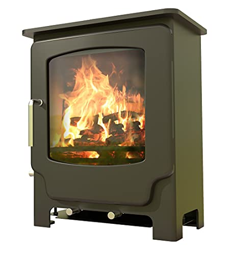 Saltfire Scout Multifuel Woodburning Stove 5kW DEFRA Approved EcoDesign Clean Burn High Efficiency...