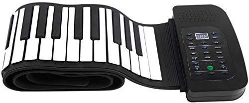 Hand Roll Electronic Piano, 88 Keys oplaadbare Roll Up Piano toetsenbord met trapondersteuning MIDI, For Kids beginner muziekinstrument Creative Educatief speelgoed LQH