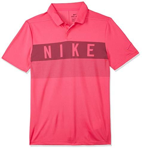 Nike Jungen Dri-FIT Golf-Polo T-shirt, Rosa (Rush Pink/666), Gr. S