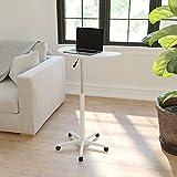 Flash Furniture Laptop Desks, 25.5'W x 22.5'D x 27' - 36.5'H, White