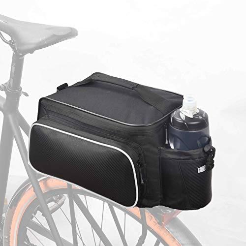 Roswheel Bike Rack Bag Seat Cargo Bag Rear Pack Trunk Pannier Handbag New...