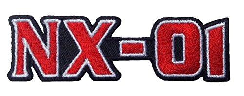 Titan One Europe - Star Trek NX-01 Enterprise Logo Iron On Costume Cosplay Patch Iron On Aufnäher Aufbügler Patch