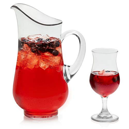 Libbey Sangria Set with 6 Glasses and Pitcher