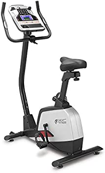 Circuit Fitness Magnetic Upright Exercise Bike with 15 Workout Presets