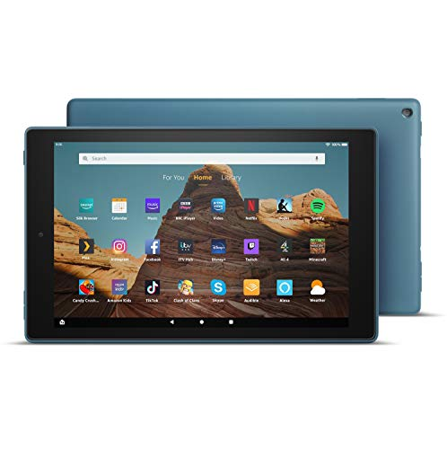 Fire HD 10 Tablet | 10.1' 1080p Full HD display, 64 GB, Twilight Blue - with Ads