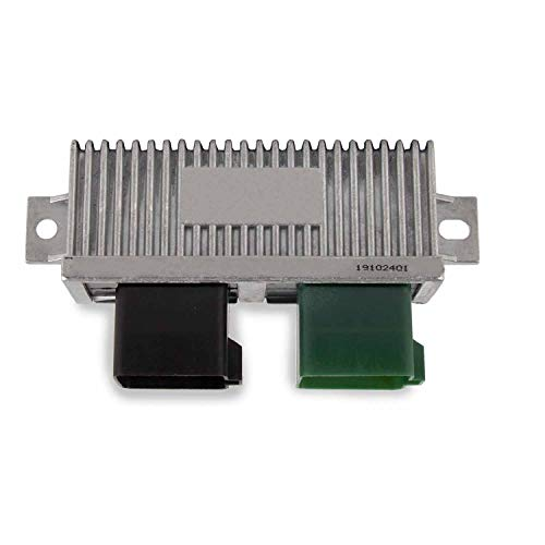 Diesel Glow Plug Control Module Relay for 1999-2010 Ford Super Duty,Club Wagon,Excursion, 7.3L 6.0L 6.4L Replaces YC3Z12B533AA (Silver)