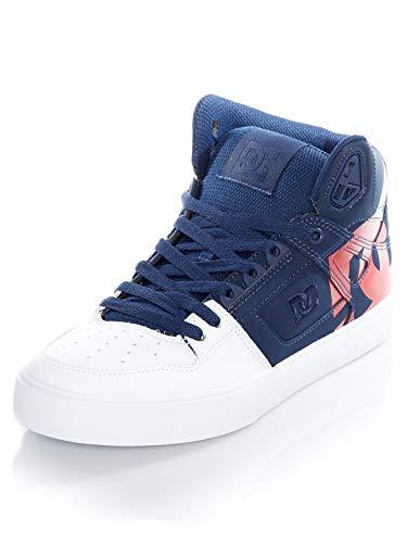 DC Shoes Pure WC SP - High-Top-Schuhe für Männer ADYS400050, Navy/Red, 52 EU