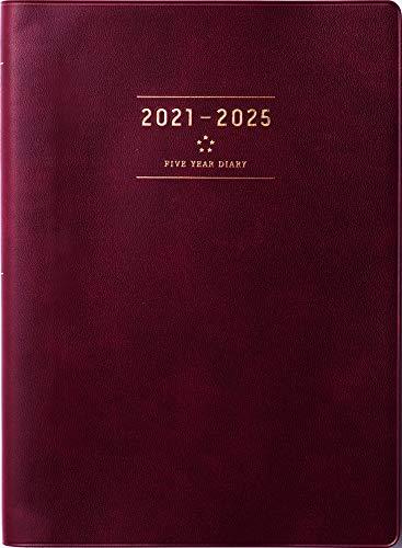 高橋 手帳 2021年 A5 5年卓上日誌 ワイン No.98 (2021年 1月始まり)