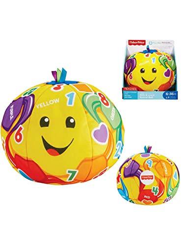 Fisher-Price FTC85 Stadion Fußball & Lernen, Zählen, Farben, Formen, Oppositen, Spielzeug für Kinder 6 + Monate,