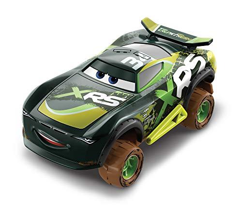 Disney Pixar Cars Petite Voiture Xrs Course Dans la Boue, Trunk Fresh, Véhicule avec Suspension, Jouet pour Enfant, Gfp49