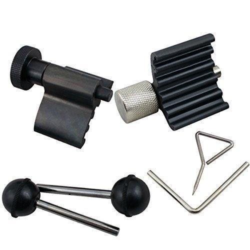 Hengda 6-TLG Zahnriemen Wechsel Motor Werkzeug Set Nockenwellen Arretierwerkzeug Kurbelwelle für VAG