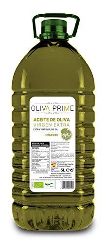 Oliva Prime – Aceite de Oliva Virgen Extra - Ecológico – Garrafa 5 Litros