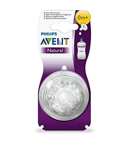 Philips Avent Natural Nipple Newborn Flow - 6 Pack