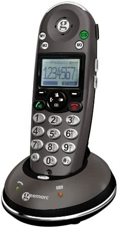 Sonic Alert Amplified Digital Cordless Phone with Caller ID and Hearing Aid Compatibility Amplidect350 product image