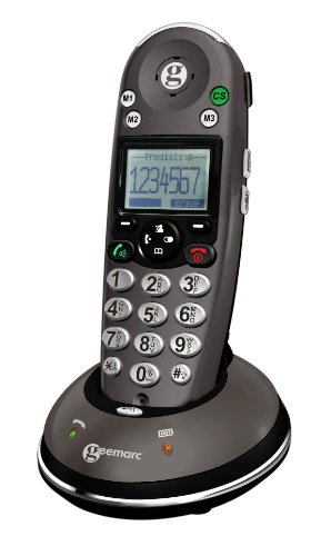 Sonic Alert Amplified Digital Cordless Phone with Caller ID and Hearing Aid Compatibility - Amplidect350