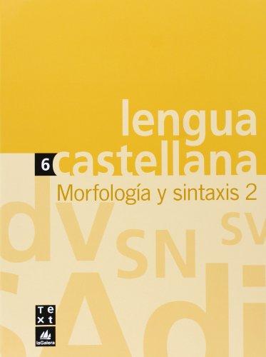 Quadern de Lengua castellana Morfología y sintaxis 2 (Q. LLENGUA CASTELLANA ESO) - 9788441215337