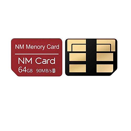 Tarjeta de Memoria NM Original para Huawei P30, P30 Pro, Mate 20, Mate 20 Pro, Mate 20 RS, Mate 20 X, NOVA5, NOVA5 Pro (64GB)