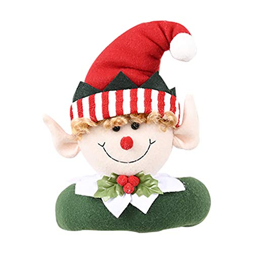 Christmas Decor Hot Sale,Christmas Curtain Button Creative Cartoon Doll Decoration Curtain Buckle 2pc Merry Christmas Decorative Holiday Home Party Decor Xmas Ornaments Gifts for Kids Adults