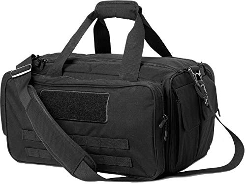 Cannae Pro Gear Tactical Armory Cordura Nylon Gun Pistol Shooting Range Bag Black