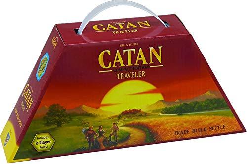 Catan 3103Les Colons de Catane Catan Travel Edition Jeu de société - version française non garantie - version anglaise