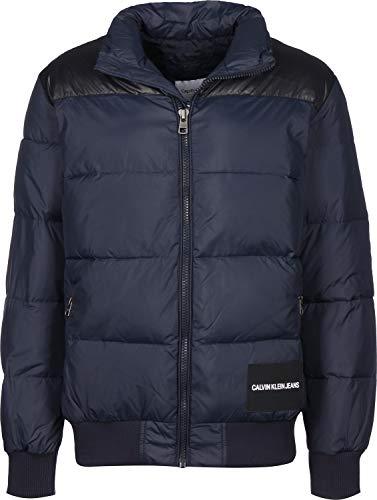 Calvin Klein Jeans J30J313099 Padded Western Capospalla E Giubbotti Uomo Night Sky...