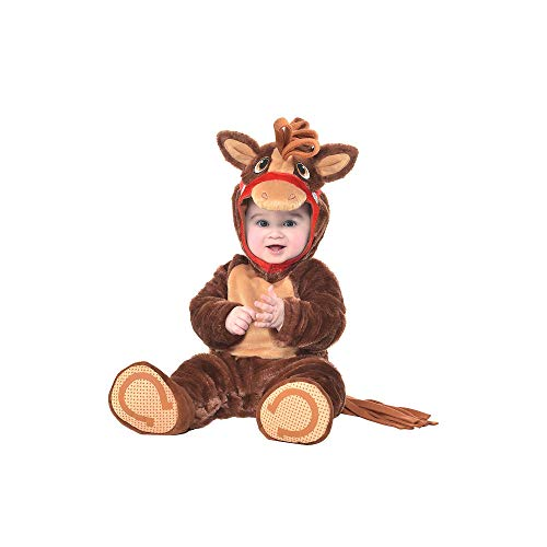 amscan Baby Pony Pal Costume - 12-24 Months, Multicolor