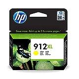HP 912XL 3YL83AE, Amarillo, Cartucho de Tinta de Alta Capacidad Original, Compatible con impresoras de inyección de Tinta HP OfficeJet Pro Series 8010; 8020